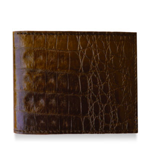 Alligator Brown Wallet