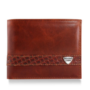 Brown Contemporary Wallet