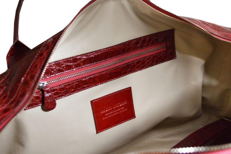 Alligator Bag Red