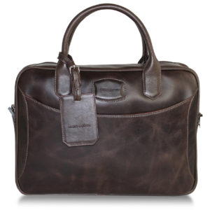 EXECUTIVE CARRIER DARK BROWN