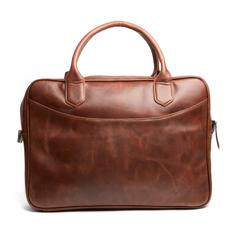 EXECUTIVE CARRIER LIGHT BROWN BACK