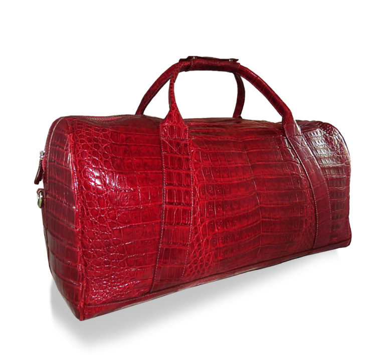 Alligator Bag Red