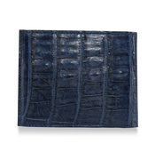 Navy Blue Alligator Wallet