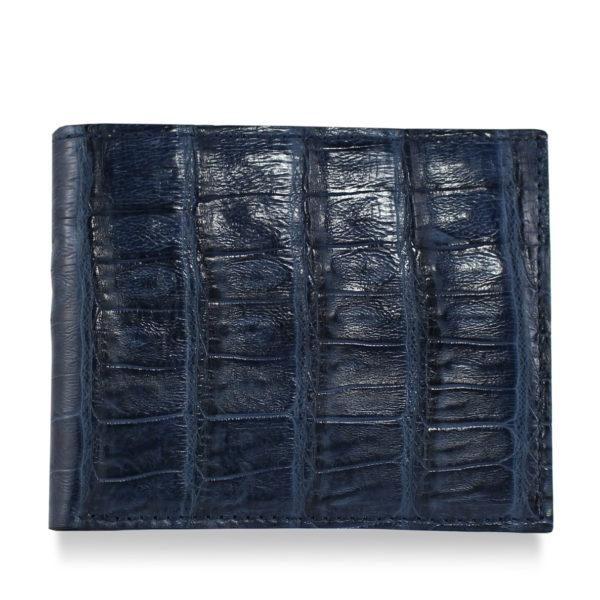 Navy Blue Alligator Wallet