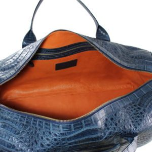 Alligator Bag blue