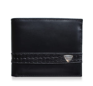 Black Contemporary Wallet