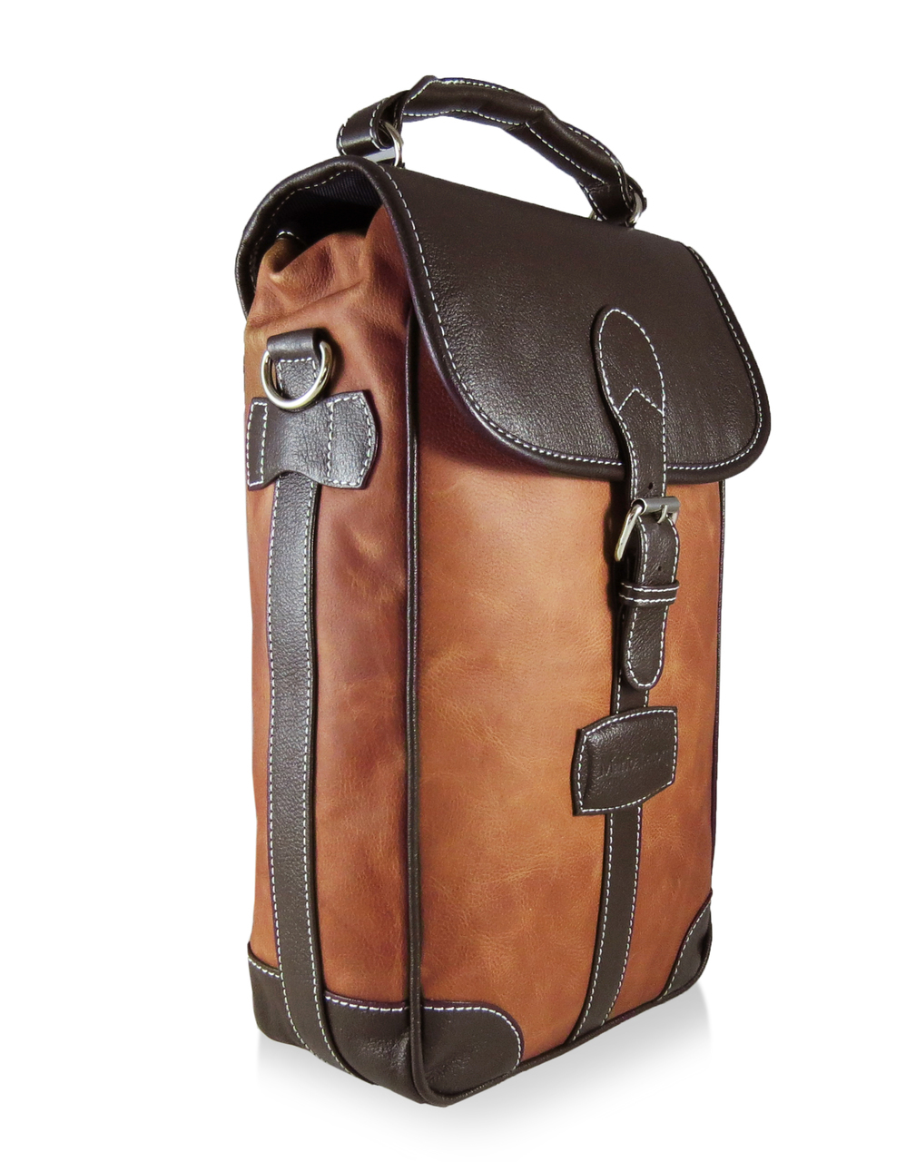 Leather Wine Carrier >> Wine Bottle Holder Luxury Mens Travel Bags And Accessories By