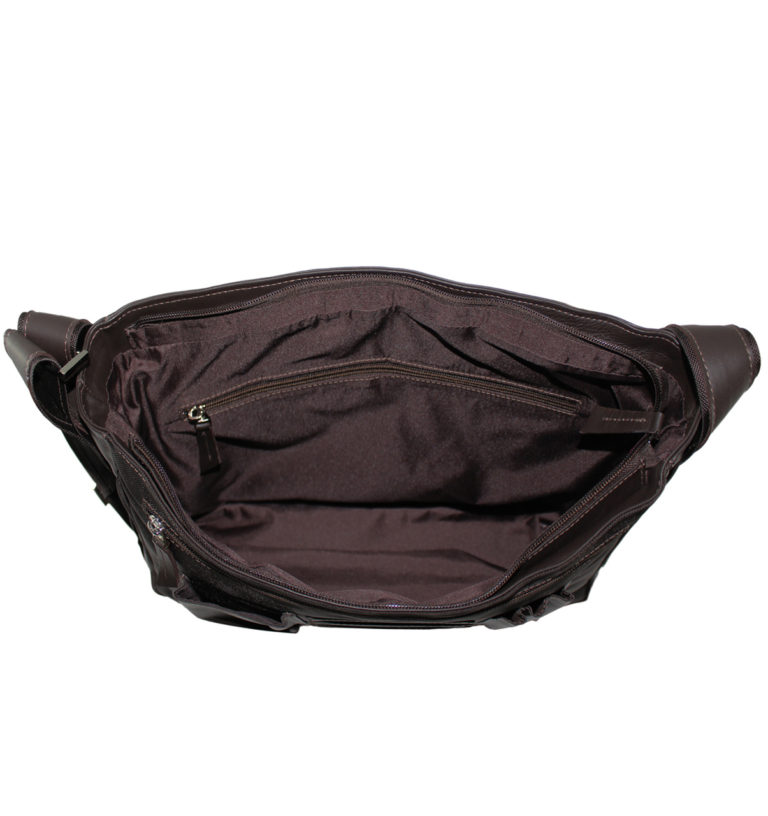 Brown Verona Messenger Bag