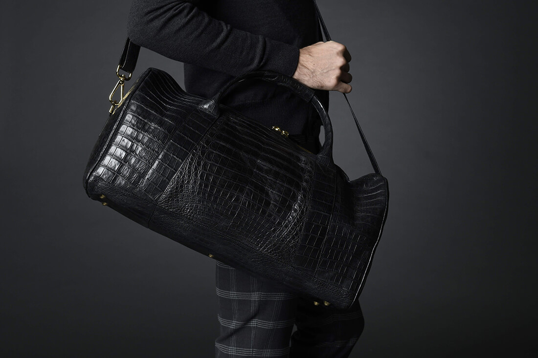 Alligator Bag Black